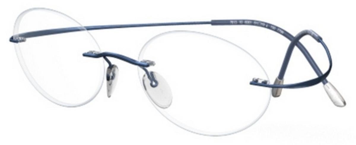 Eyeglass Frames Silhouette Titanium : Silhouette 7799-7625 Eyeglasses Frames