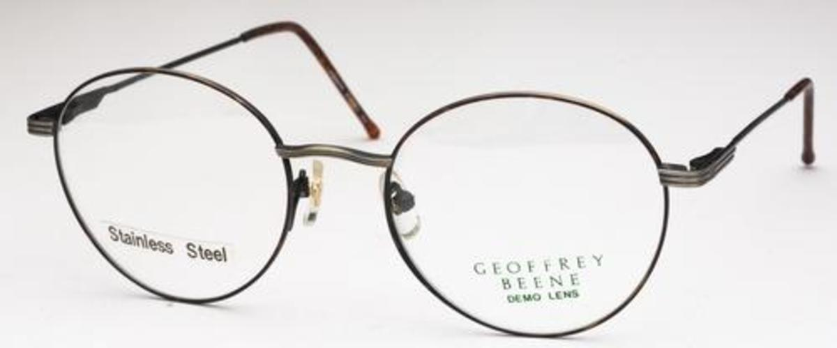 Geoffrey Beene Antiquity Eyeglass Frames : Geoffrey Beene 108 Eyeglasses Frames