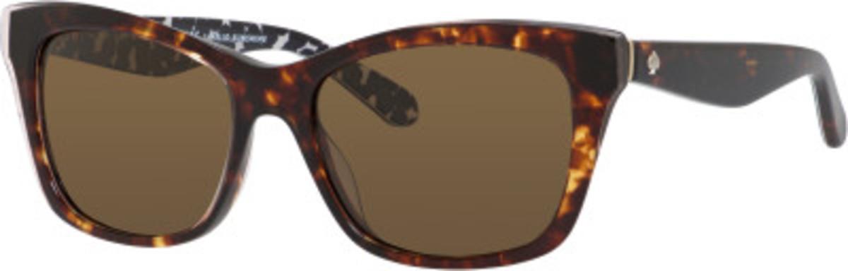 Jenae/S Sunglasses Havana Cream Transparent