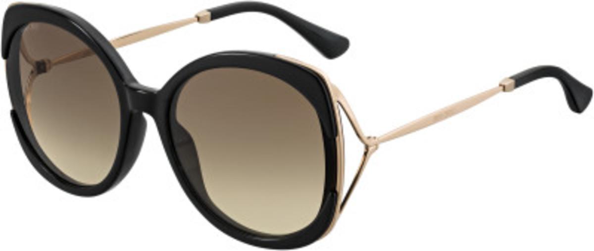 Lila/S Sunglasses Black Gold