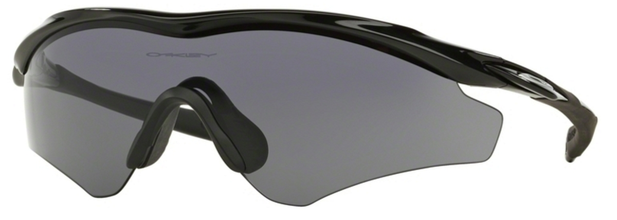 01bf828d2e Oakley M2 Frame XL (Asian Fit) OO9345 Polished Black with Grey Lenses 01.  Polished Black with Grey Lenses 01