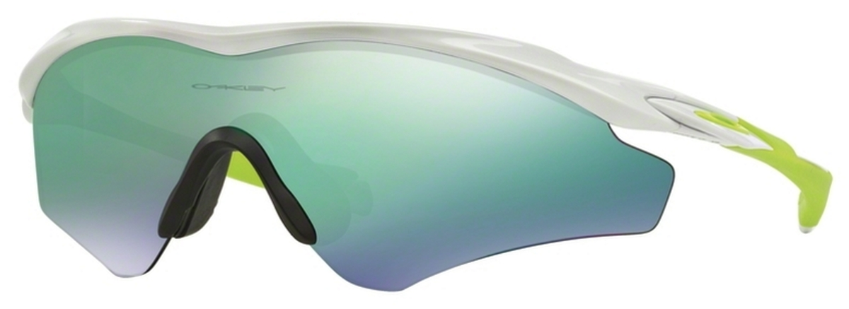 eccd2f71a3 Oakley M2 Frame XL (Asian Fit) OO9345 Polished White with Jade Iridium 06.  Polished White with Jade Iridium 06