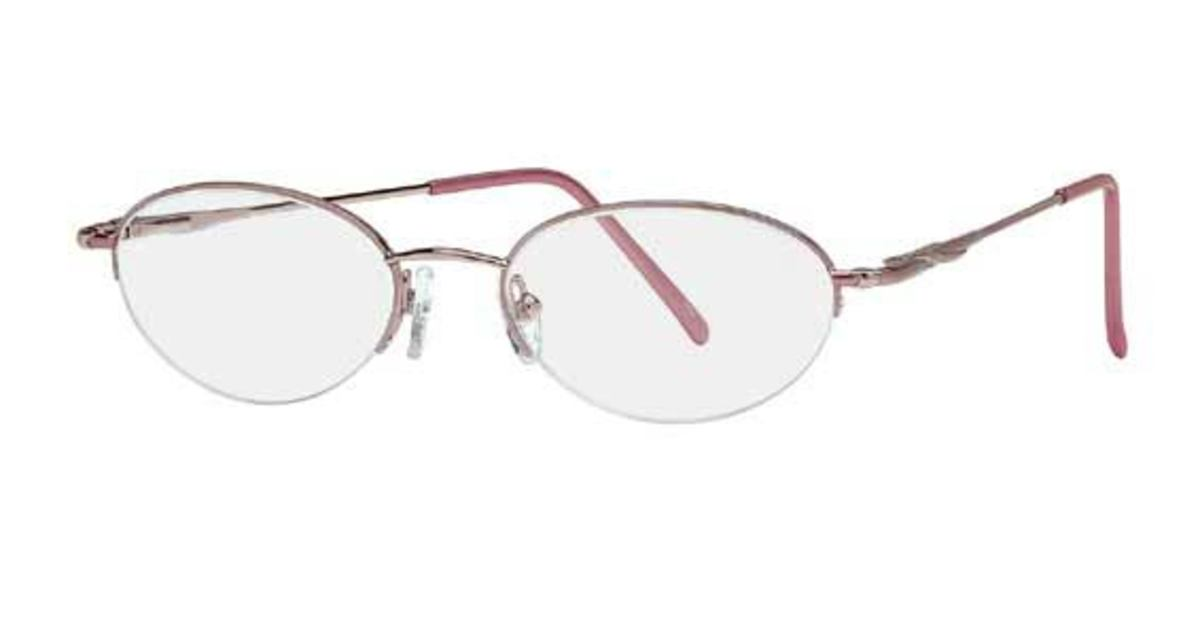Silver Dollar Amber Eyeglasses