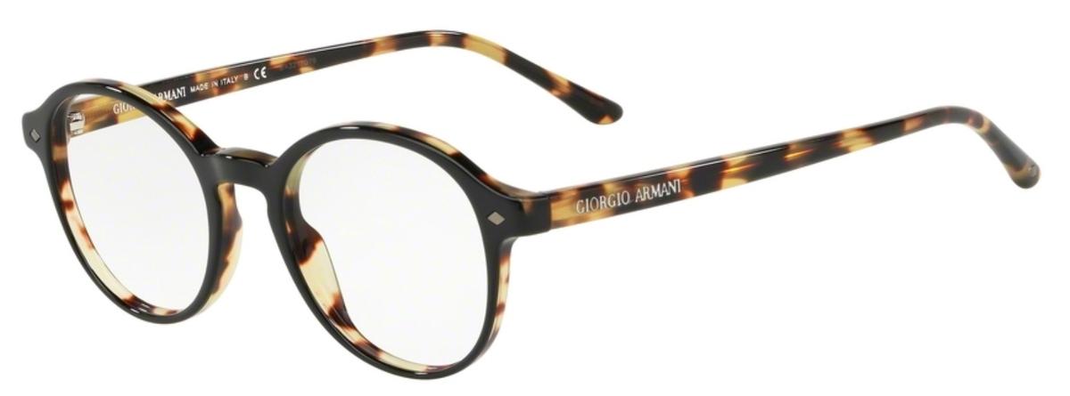 e913f4f140 Striped Light Brown · Giorgio Armani AR7004 Top Black Havana. Top  Black Havana