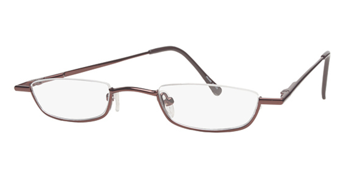 Half Frame Glasses Americas Best : Europa Half-Rim Eyeglasses Frames
