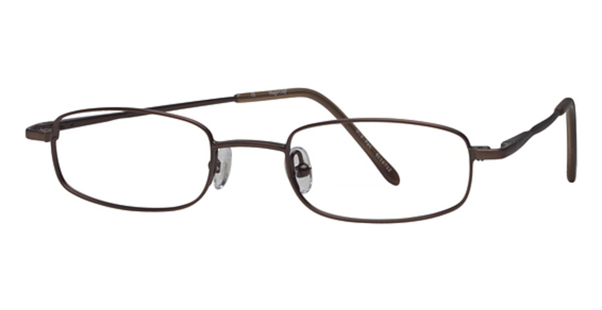 Glasses Frames Magnetic Clip : Magic Clip M 258 w/Magnetic Clip-on Eyeglasses Frames