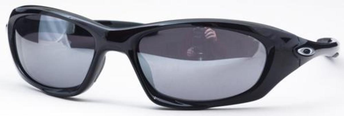 5a3dab6c5f ... coupon for oakley twenty oo9157 polished black with black iridium lenses.  polished black with black