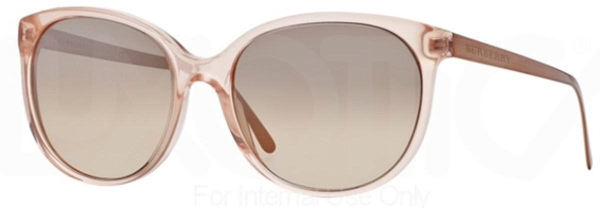 b5ad1a81af2e Burberry BE4146 Pink w/ Brown Mirror Gradient Silver Lenses. Pink w/ Brown  Mirror Gradient Silver Lenses