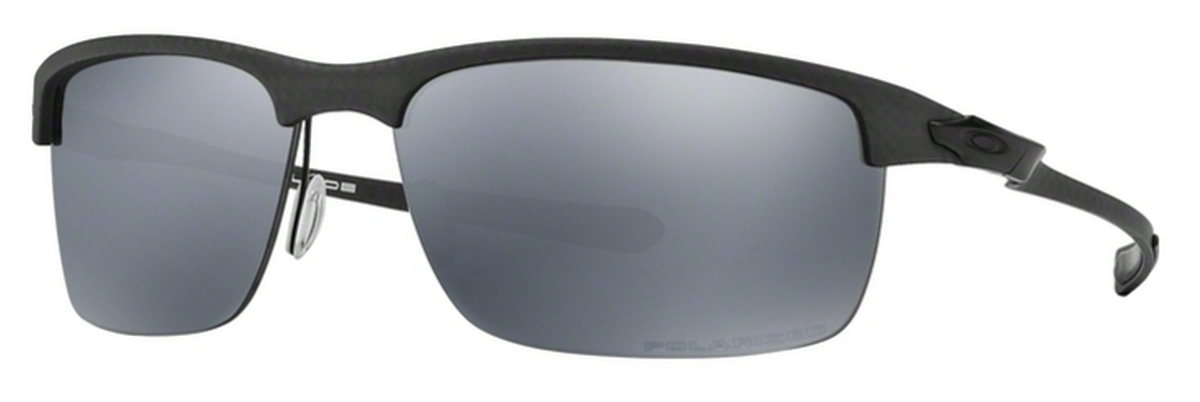 37ed3cd9e18 03 MATTE   SATIN BLACK w  Polarized Black Iridium Lenses. Oakley Carbon  Blade ...