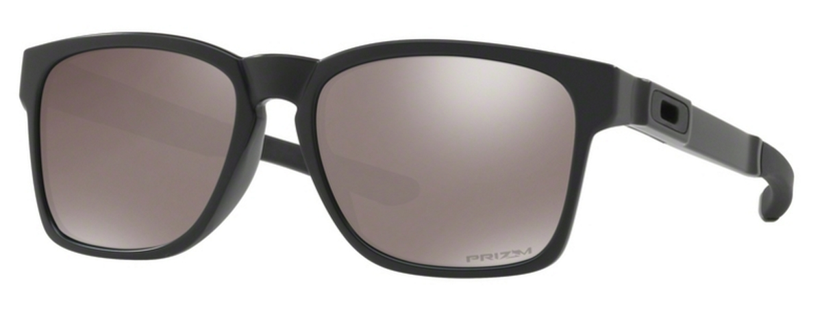 0b8dc3f3300e5 23 Matte Black with Prizm Black Polarized Lenses. Oakley Catalyst OO9272 24  Polished Black ...