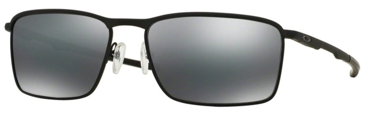 77b8eacccb 01 Matte Black with Black Iridium Lenses · Oakley Conductor 6 OO4106 02 Lead  with Polarized ...