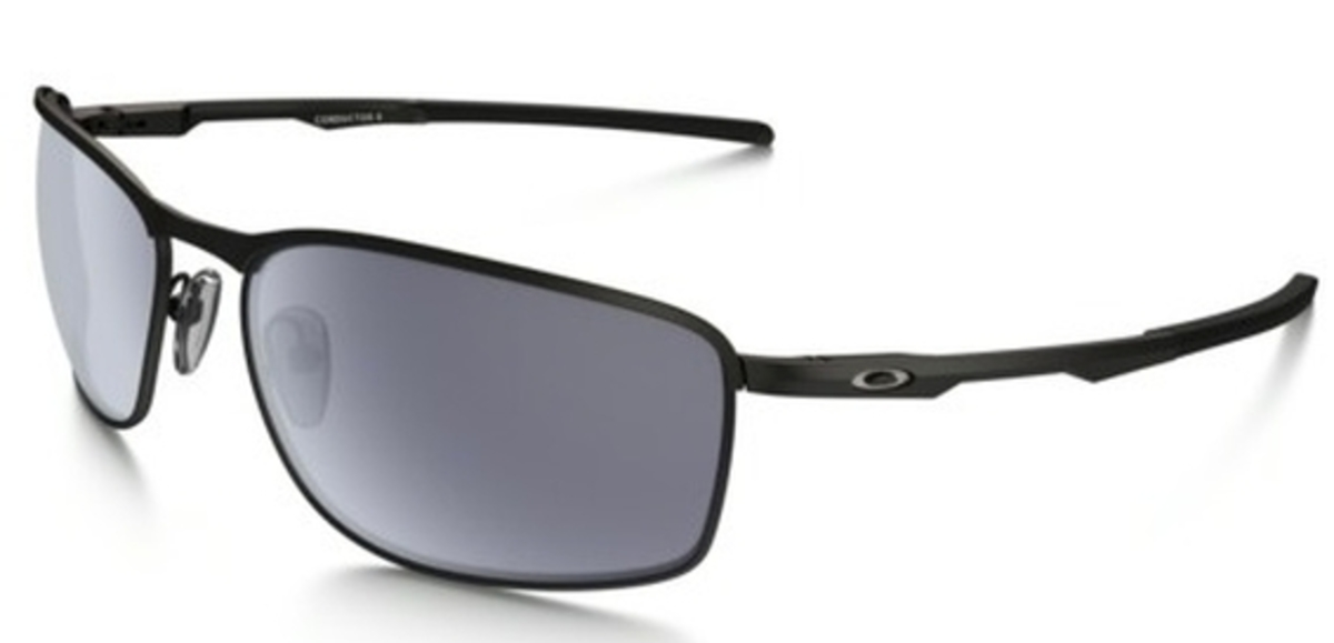 3307a487df 01 Matte Black with Grey Lenses · Oakley Conductor ...
