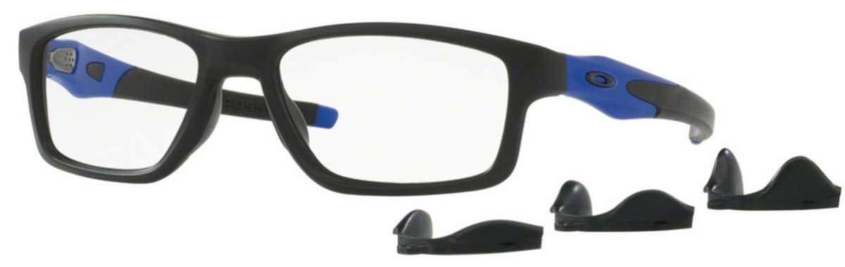 d9f041ba515 Oakley Crosslink MNP OX8090 09 Satin Black Blue. 09 Satin Black Blue
