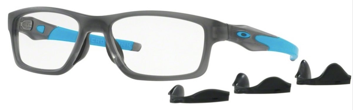 7b80ebe2e31 02 Satin Grey Smoke. Oakley Crosslink MNP OX8090 03 Polished Black Ink