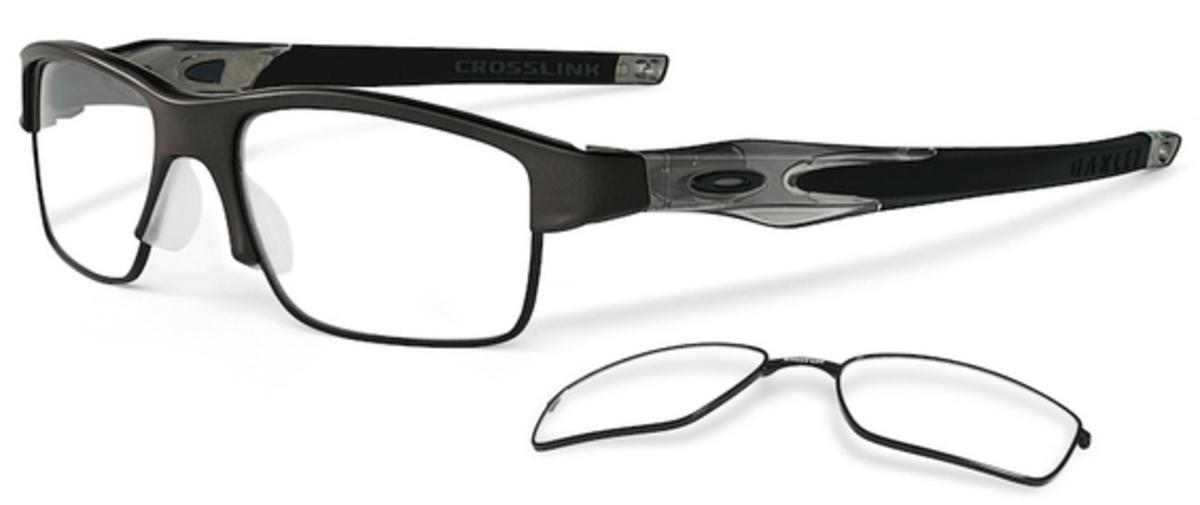 Oakley Eyeglass Frame Warranty : Oakley Crosslink Switch OX3128 Eyeglasses Frames