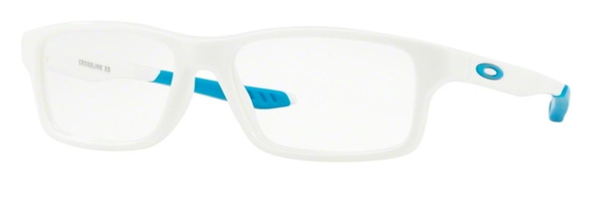 b2c804d5ee8 Oakley Crosslink XS OY8002 Youth 09 Polished White Sky Blue. 09 Polished  White Sky Blue