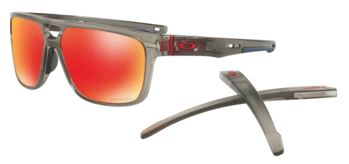 ba2d8d288a 05 Matte Grey Ink with Prizm Ruby Lenses. Oakley CROSSRANGE PATCH OO9382 06  Matte Black with Prizm ...