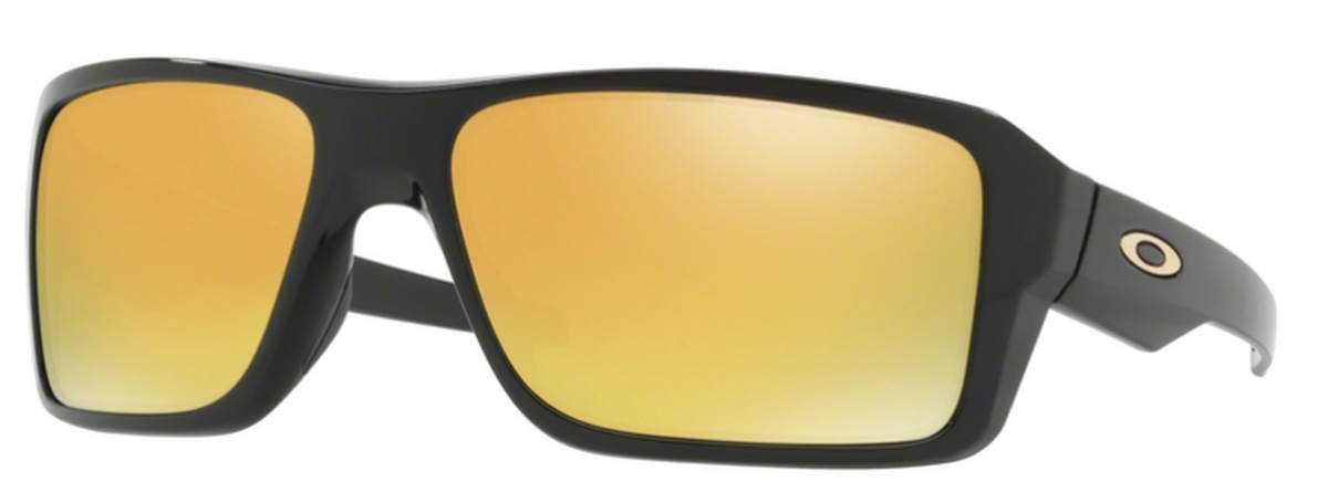 8af250ef05b 02 Polished Black with 24K Iridium Lenses. Oakley Double Edge OO9380 04  Matte Black Tortoise with Violet Iridium Lenses