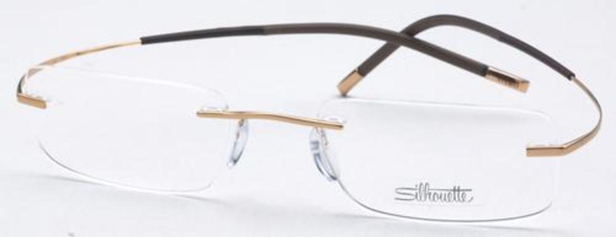 Silhouette Shape 7577 Eyeglasses Frames