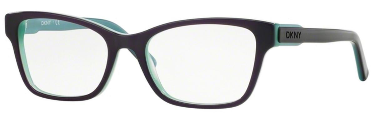dkny dy4650 top violet on aqua green top violet on aqua green - Dkny Frames