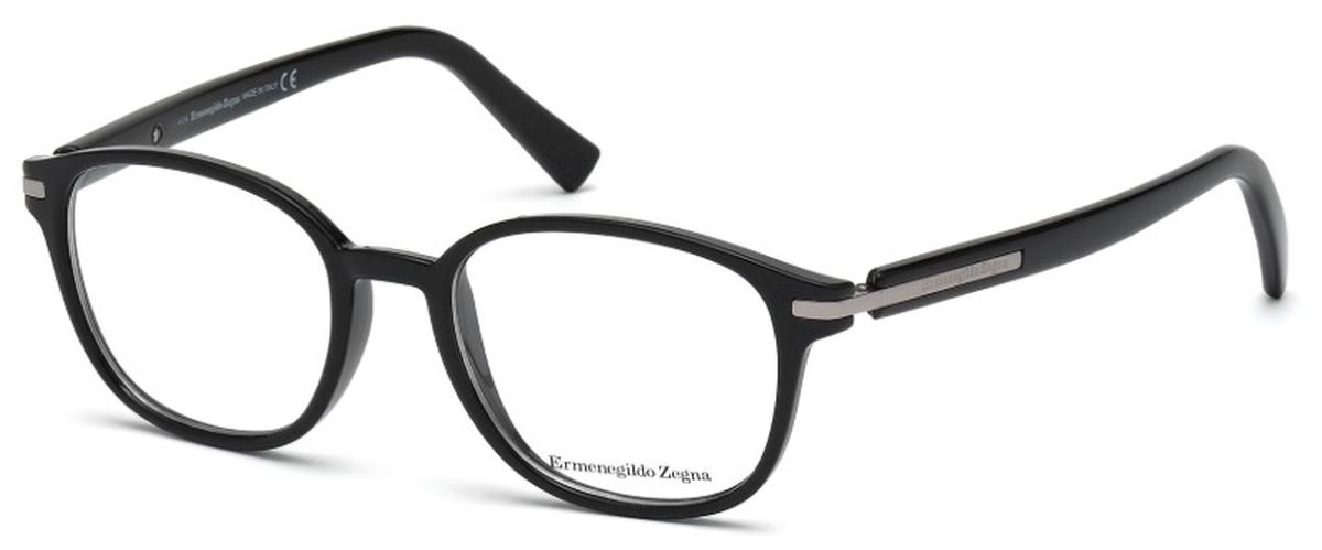 62054a405cbd Ermenegildo Zegna EZ5004 Shiny Black. Shiny Black
