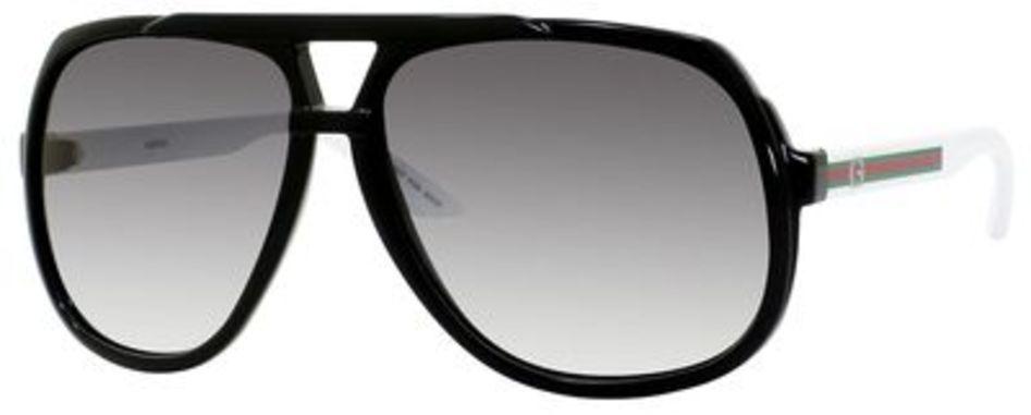 3508f6f891c Gucci Gucci 1622 S Black White. Black White