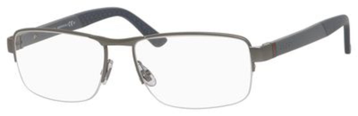 fa6a2de6bf Gucci Gg 1953 Semi-rimless Eyeglasses - Bitterroot Public Library