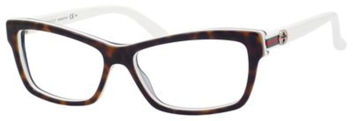 White Gucci Eyeglass Frames : Gucci 3562 Eyeglasses Frames