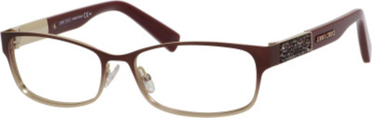 Jimmy Choo Eyeglass Frames 2015 : Jimmy Choo 124 Eyeglasses Frames
