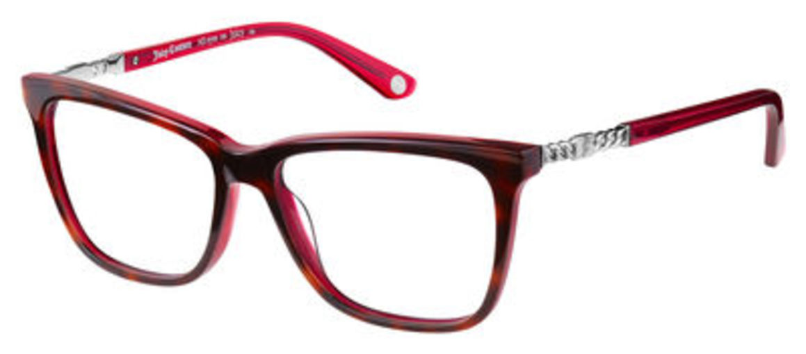Eyeglass Frames Juicy Couture : Juicy Couture Juicy 166 Eyeglasses Frames