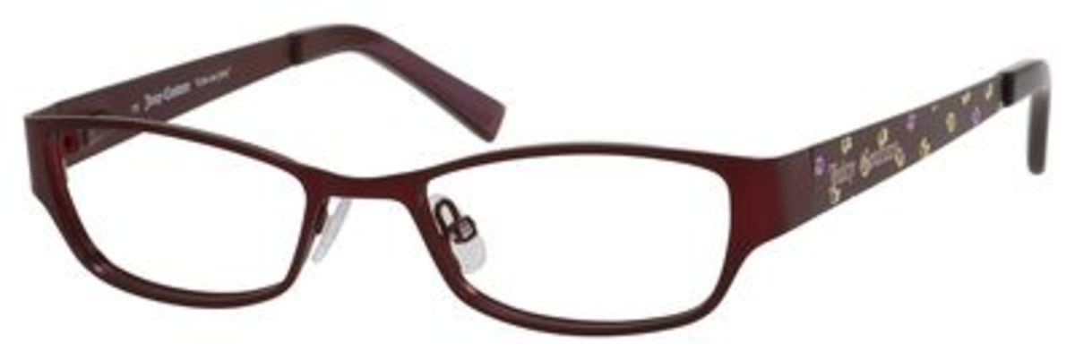 Juicy Couture Eyeglass Frames 2015 : Juicy Couture Juicy 917 Eyeglasses Frames