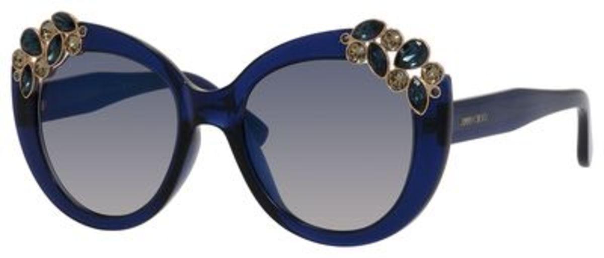 Jimmy Choo Eyeglass Frames 2015 : Jimmy Choo Megan/S Eyeglasses Frames