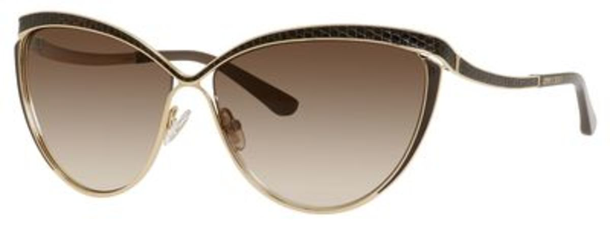 Jimmy Choo Eyeglass Frames : Jimmy Choo Polly/S Eyeglasses Frames