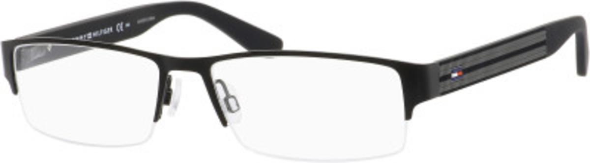 Tommy Hilfiger Glasses Frames Blue : Tommy Hilfiger T.hilfiger 1236 Eyeglasses Frames