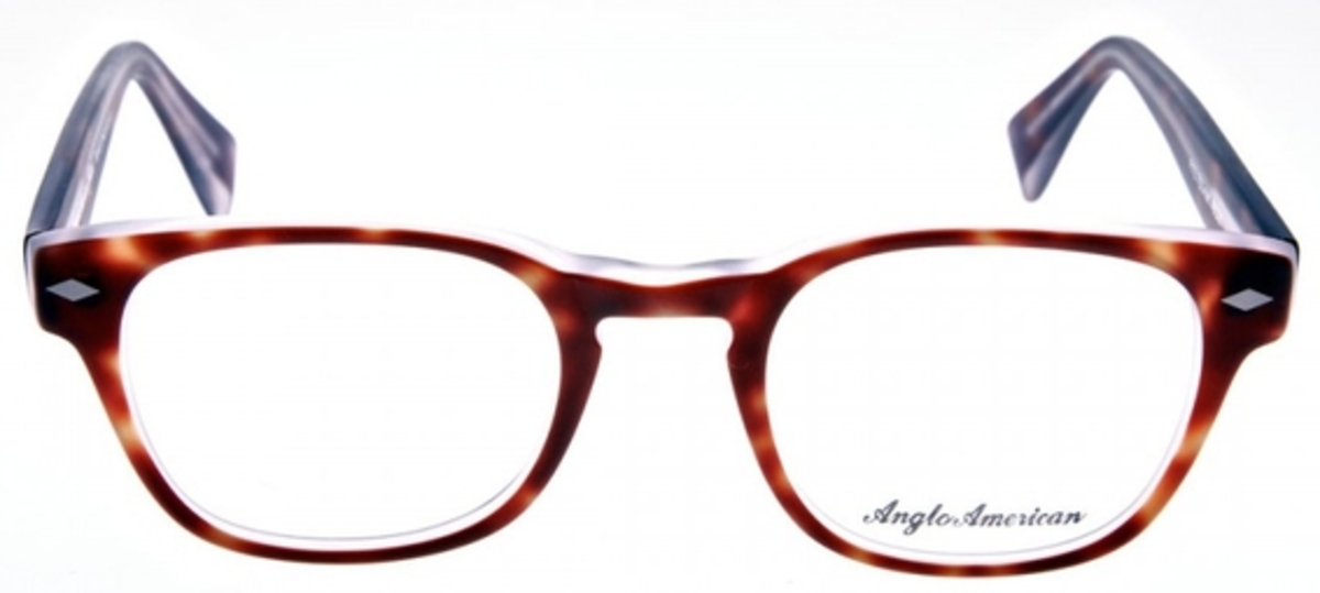 Anglo American Fitz Eyeglasses Frames