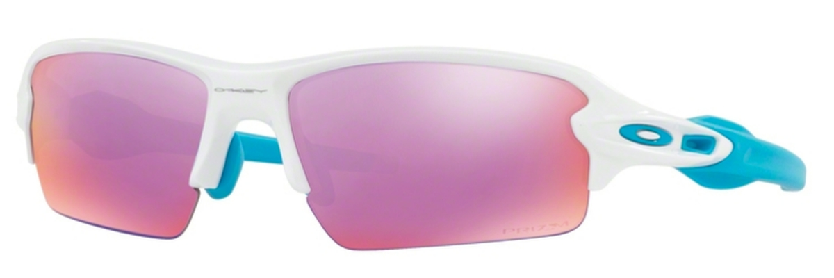 571ea27901 17 Polished White with Prizm Golf Lenses · Oakley FLAK 2.0 (Asian Fit)  OO9271 19 Sapphire Fade ...