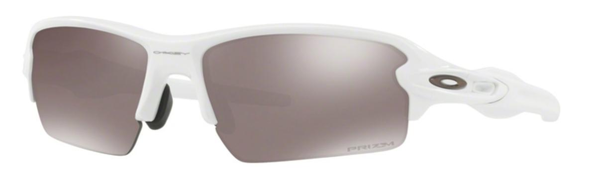 ef583746af 24 Polished White with Prizm Black Polarized Lenses · Oakley FLAK 2.0  (Asian ...