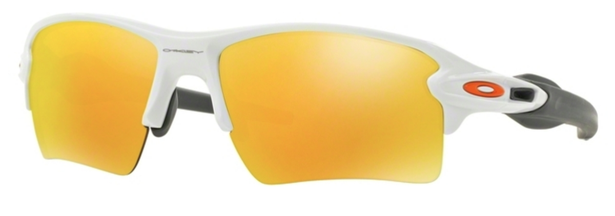 a355dc1800 Oakley Flak 2.0 XL OO9188 19 Polished White   Fire Iridium. 19 Polished  White   Fire Iridium
