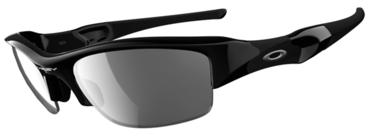 Jet Black with Polarized Black Iridium Lenses