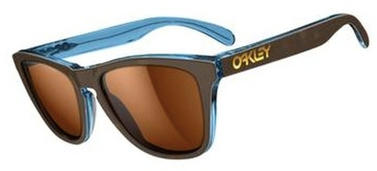 2906e18ab14 Oakley Frogskins LX OO2043 Tortoise Blue with Polarized Bronze Lenses.  Tortoise Blue with Polarized Bronze Lenses