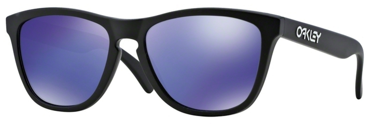 e29bb28ec2 24-298 Matte Black with Violet Iridium Lenses