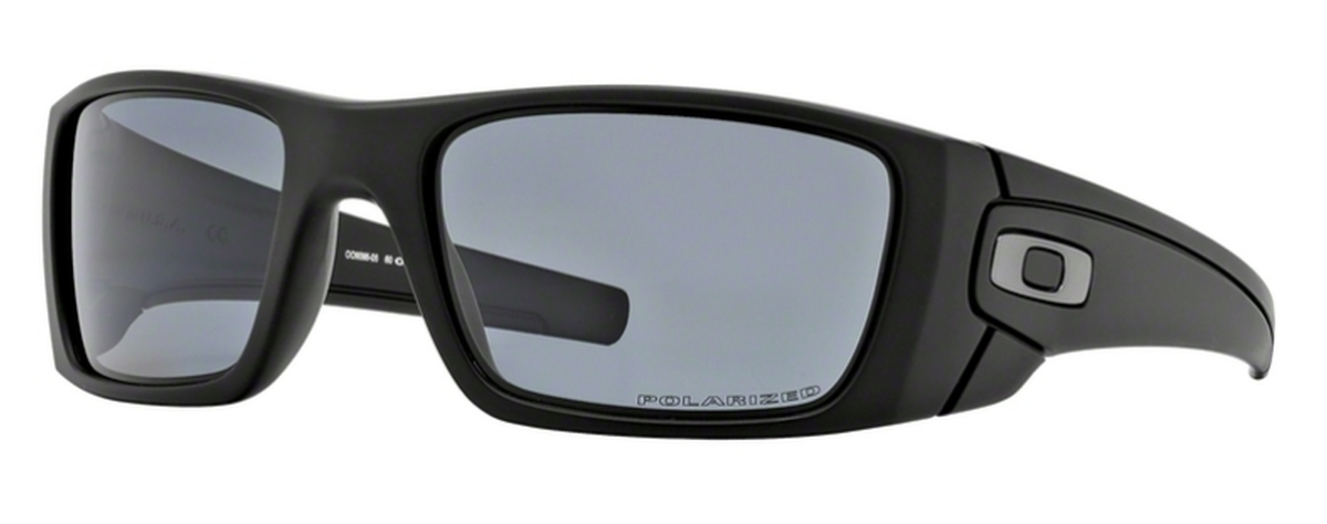 5d477779d4ab5 05 Matte Black with Polarized Grey Lenses · Oakley Fuel Cell OO9096 C9  Matte Black with Warm Grey Lenses