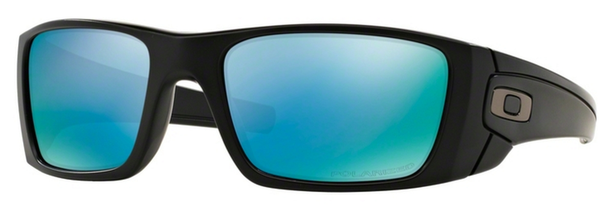 fa373374b5 D8 Matte Black with Prizm Deep Polarized Lenses. Oakley Fuel Cell OO9096 G5 Blue  Black with ...