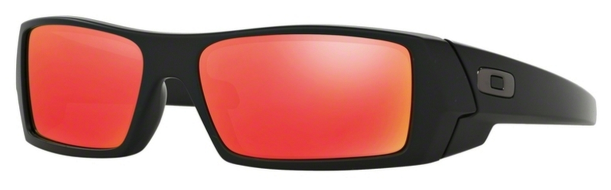 oakley gascan red zoq2  Oakley GasCan OO9014 Matte Black with Ruby Iridium Lenses 26-246 Matte  Black with Ruby Iridium Lenses 26-246 Oakley GasCan