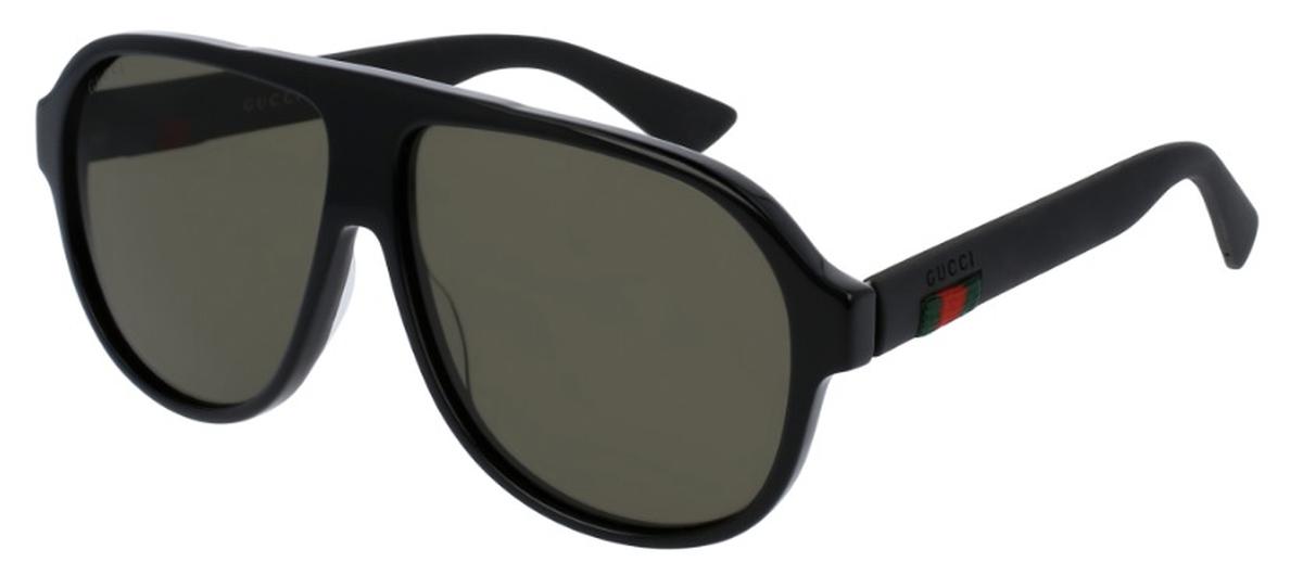 e756b21abe Black with Polarized Green Lenses