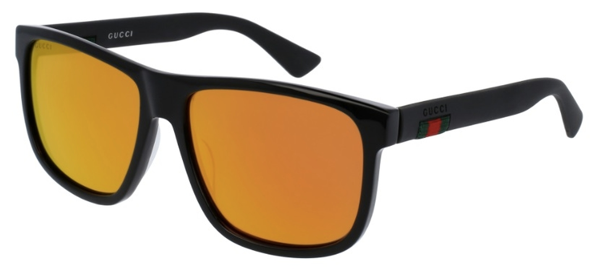 52ee79963dc Black with Red Mirror Lenses