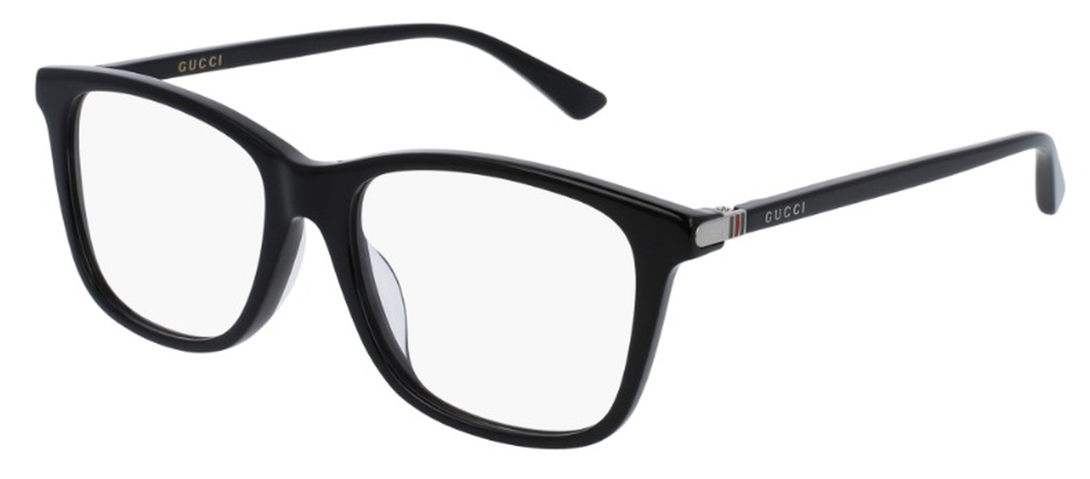 Gucci GG0018OA Asian Fit Eyeglasses Frames
