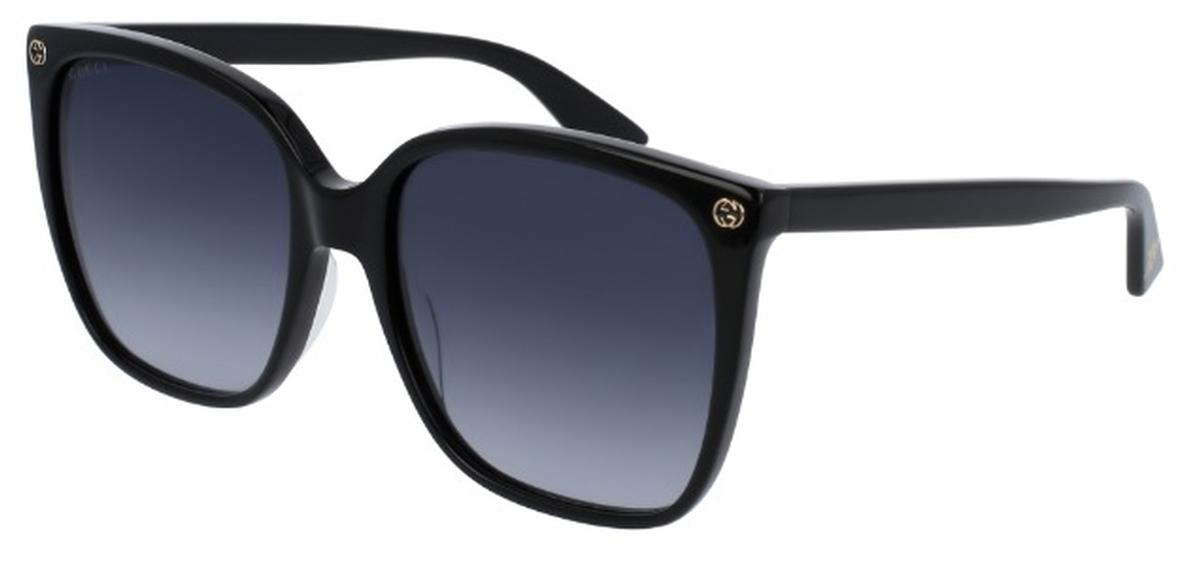 45e5126a59 Gucci GG0022S Black with Grey Gradient Lenses. Black with Grey Gradient  Lenses · Gucci ...
