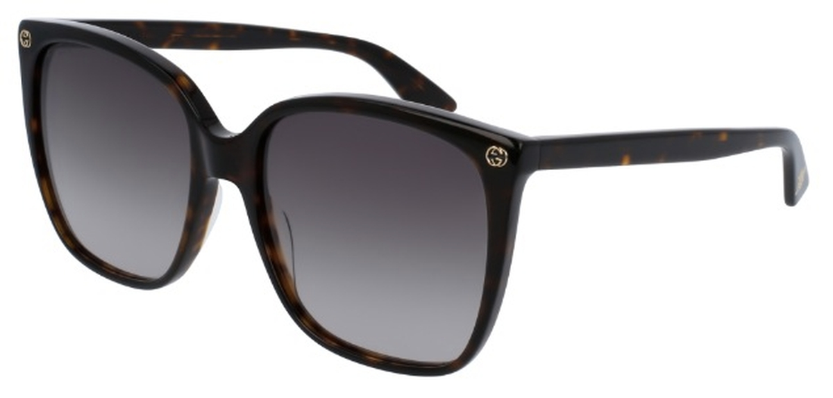 929bb3993c0c Gucci GG0022S Tortoise with Grey Gradient Lenses. Tortoise with Grey  Gradient Lenses