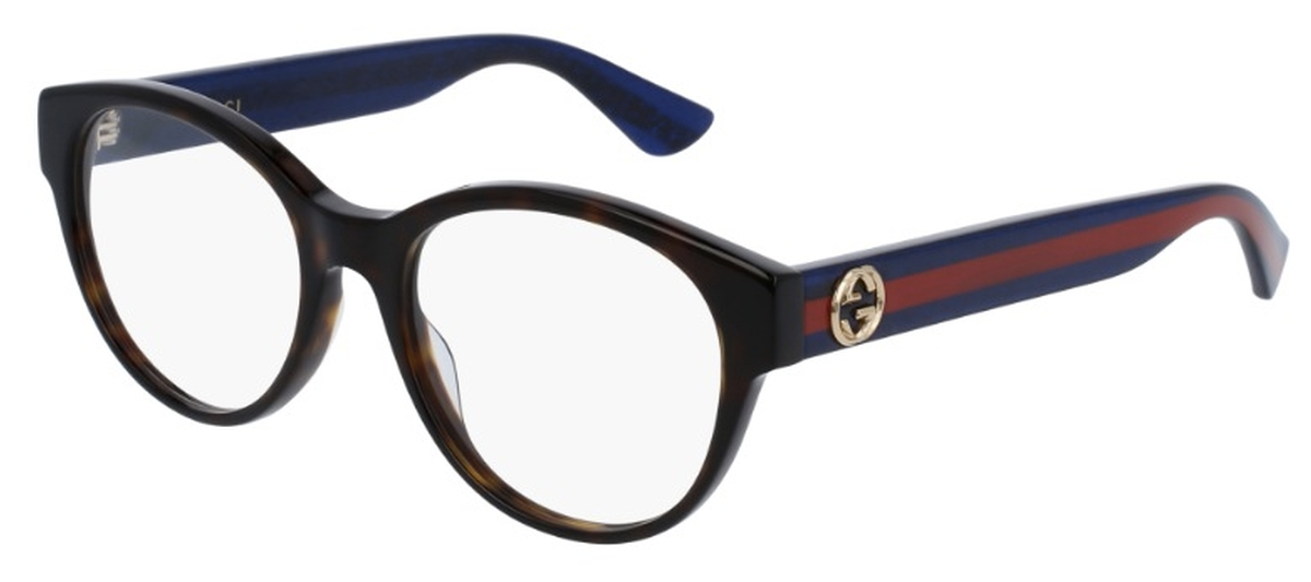 d91876af79cc Dark Havana with Blue Red Temples